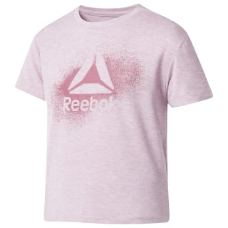 Girls' Training Tee Plus Infused Lilac Mel DH4222