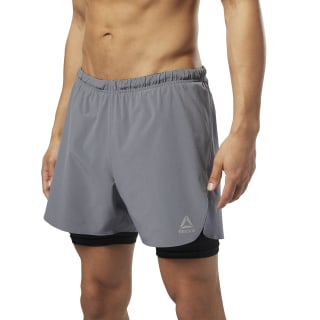 Running 2-in-1 Shorts Shark D92946