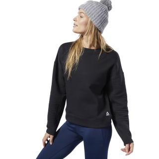 Sweat à col rond Workout Ready Black EC2384