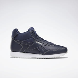 Reebok Royal Glide Mid Shoes Heritage Navy / Alabaster / White DV6785