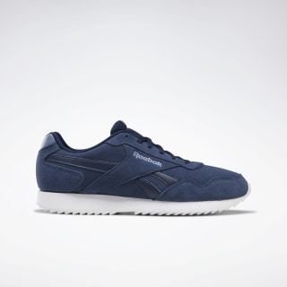 Reebok Royal Glide Ripple Shoes Collegiate Navy / Washed Ind / White DV6818