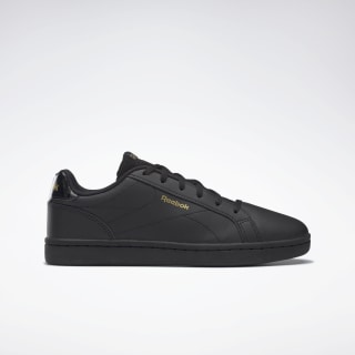 Tênis Reebok Royal Complete Black / Gold Metallic CM9542