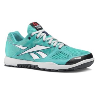 Reebok CrossFit Nano 2.0 Solid Teal / White / Wicked Blue / Gravel J99449