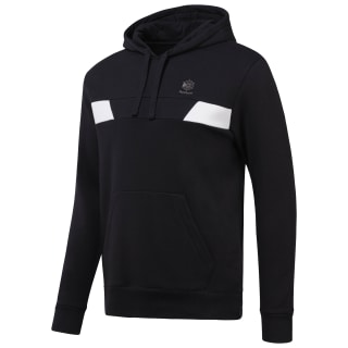 Over the Head Fleece Hoodie Black CD7447