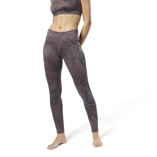 Workout Ready Printed Tight Purple D95050