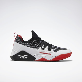 Reebok JJ III Shoes Black / Rebel Red / White EH1777