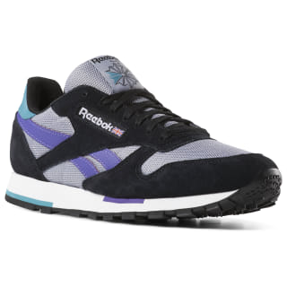 Classic Leather Black / White / Shadow / Purple CN7035