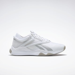 Reebok HIIT Shoes White / Silver Metallic / Vivid Orange FU6652