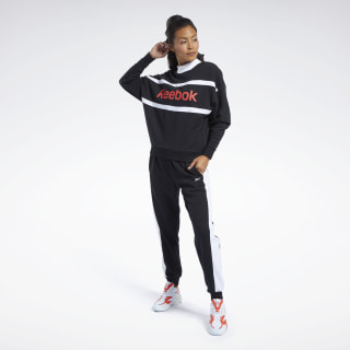 Training Essentials Linear Logo Track Suit Black FQ3178
