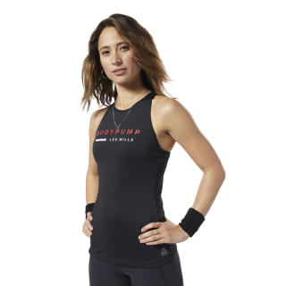 LES MILLS® BODYPUMP® Support Tank Top Black ED0593