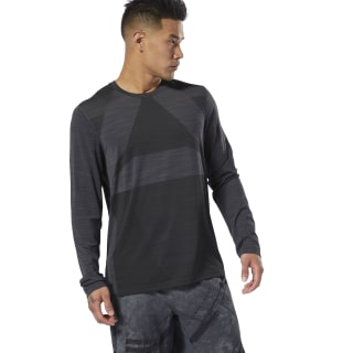T-shirt Combat ACTIVCHILL Vent Long Sleeve Dgh Solid Grey DU4972