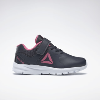 Reebok Rush Runner Shoes Navy / Pink / Silver DV8800