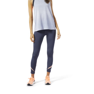 Legging de running 7/8 One Series Heritage Navy EC2989