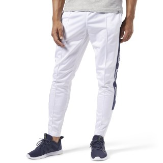 Training Essentials Logo Trackster Pants White FI1927