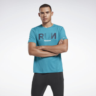 Running Essentials Graphic Tee Seaport Teal FK6477