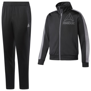 Boys Workout Ready Tricot Tracksuit Black DH4327
