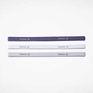 Opaska na głowę One Series Training 3-Pack Thin Midnight Ink / White / Lucid Lilac EC5457