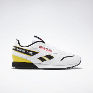 Classic Leather Ripple Shoes White / Black / Primal Red EG5219