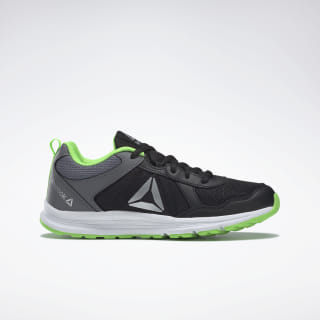 Reebok Almotio 4.0 Shoes Black / Grey / Green / Silver DV8675