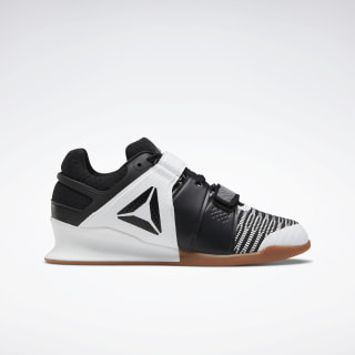 Reebok Legacy Lifter FlexWeave Shoes White / Black / Reebok Rubber Gum-03 FU7877