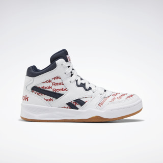 BB 4500 Court Shoes - Preschool White / Collegiate Navy / Legacy Red EH3214