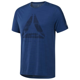 T-shirt ACTIVCHILL Graphic Move Bunker Blue D93810