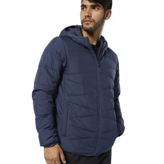 Outdoor Leightweight Down Jacket Heritage Navy / Heritage Navy EJ8346