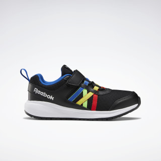 Reebok Road Supreme Shoes Black / Humble Blue / Radiant Red EF6626