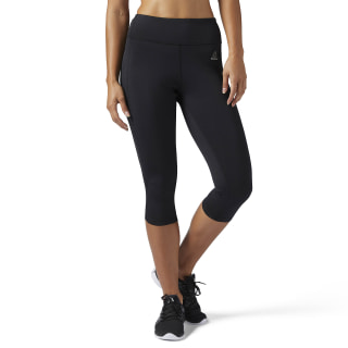 Legginsy Running Essentials Capri Black BQ5527