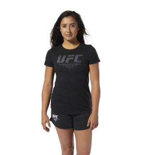 UFC Fan Gear Logo Tee Black DU4558