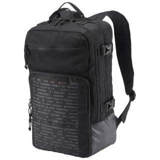 LES MILLS BACKPACK Black DN5789