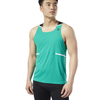 Camiseta sin mangas Boston Track Club Emerald EC3952