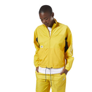Олимпийка-кардиган CL A TRACKTOP Yellow/toxic yellow EB5108