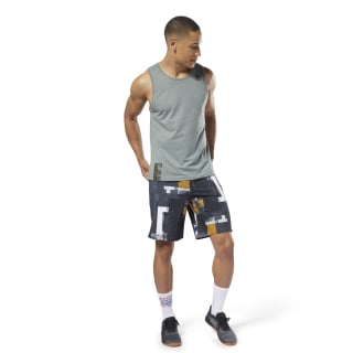 Short Cordlock Reebok EPIC - Digital CrossFit Black CY4955