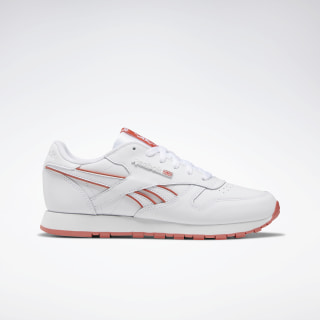 Classic Leather Shoes White / White / Rosette EG5860
