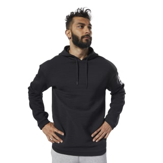 Workout Ready Fleece Hoodie Black EC0880