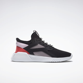 Кроссовки Reebok Freestyle Motion Lo Grey/black/pixel pink/radiant red EF5179