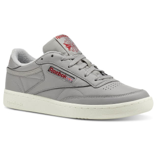 Club C 85 Solid Grey/Power Red/Chalk CN5374