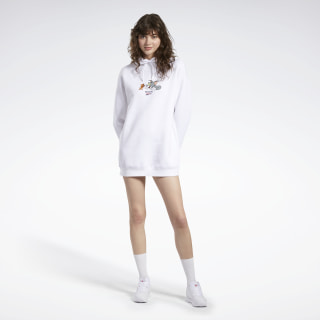 Tom and Jerry Hooded Dress White GJ0468