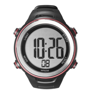 Pulse Steel + Heart Rate Monitor Black/Red CK6820