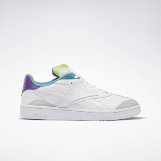 Club C RC 1.0 Shoes White / Regal Purple / Skull Grey DV8659