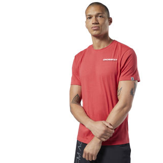 Camiseta Reebok CrossFit® Deadlift Diagram Rebel Red EC1465