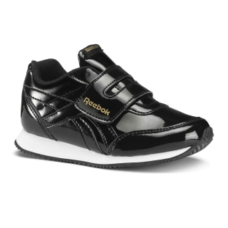 Reebok Royal Classic Jogger 2.0 KC Ptnt-Black / Gold / Wht DV3668