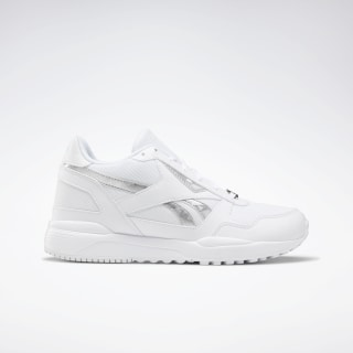 Reebok Royal Bridge 2.0 Shoes White / White / Silver Metalic DV8973