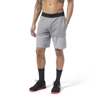 Reebok CrossFit® MyoKnit Shorts Medium Grey Heather / Ash Grey DU5081