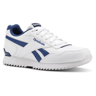 Zapatilla Reebok Royal Glide Ripple White / Bunker Blue CN4877