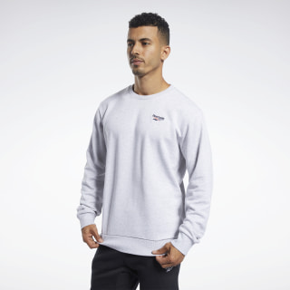 Classics Vector Crew Sweatshirt Light Grey Heather FM3970