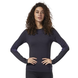 Thermowarm Base Layer Trainingsshirt Black / Midnight Ink DY8176