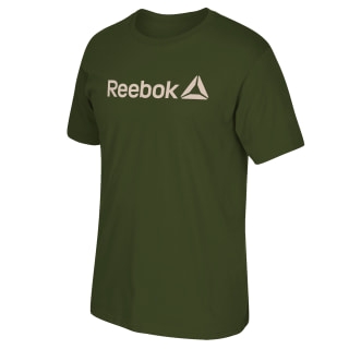 Reebok Linear Read Tee Military Green FP8013