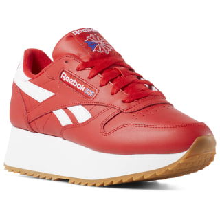Classic Leather Double Primal Red/White/Cobalt DV3632